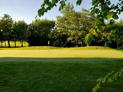 M fernhill golf   country club  2 green fees   range balls fernhill 12