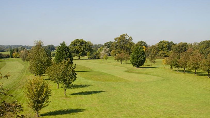 Chartridge park golf club 2nd fairway