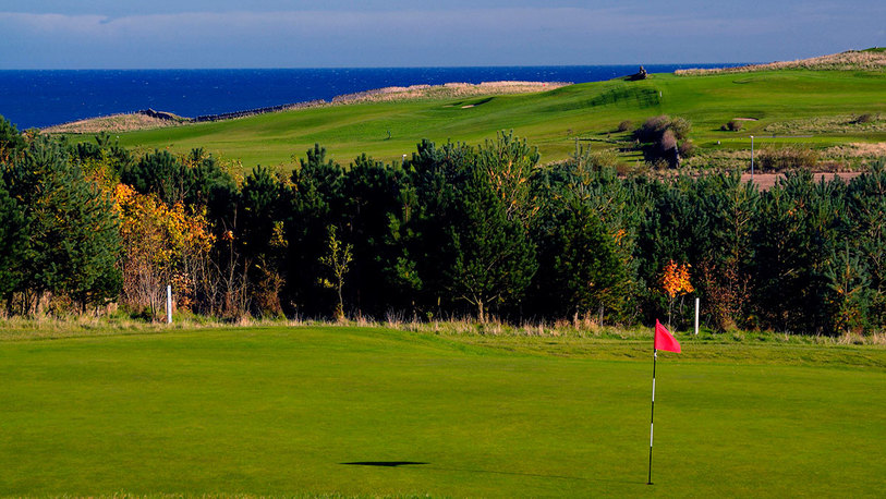 17th green plus sea view