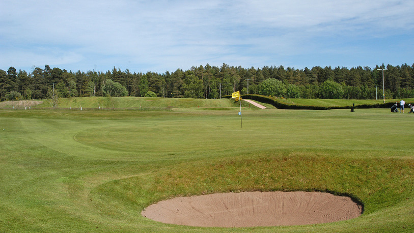 13 th green edzell g.c