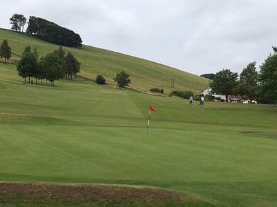 Cupar golf club 9th green