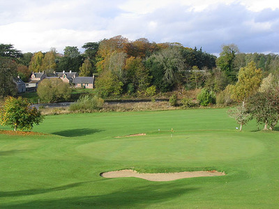 The 2nd green at st boswells golf course   geograph.org.uk   596458