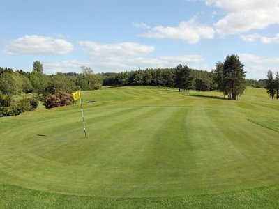 18th green clones golf club