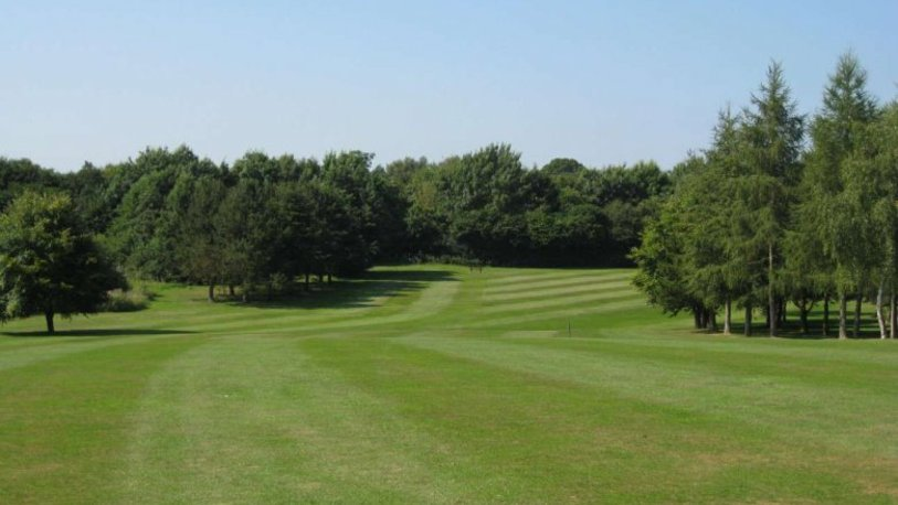 Mile end golf club 16th fairway