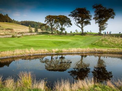Wollgolf club  ashkirk  scottish borders   david j whyte   linksland 22sml